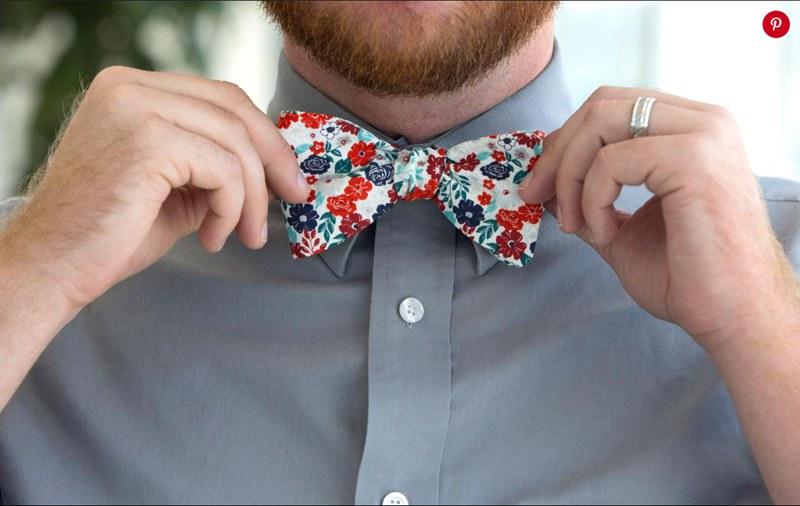 15. Easy-Sew Bow Tie