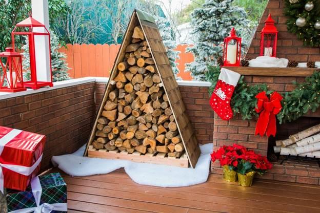 17-DIY-Outdoor-Firewood-Storage
