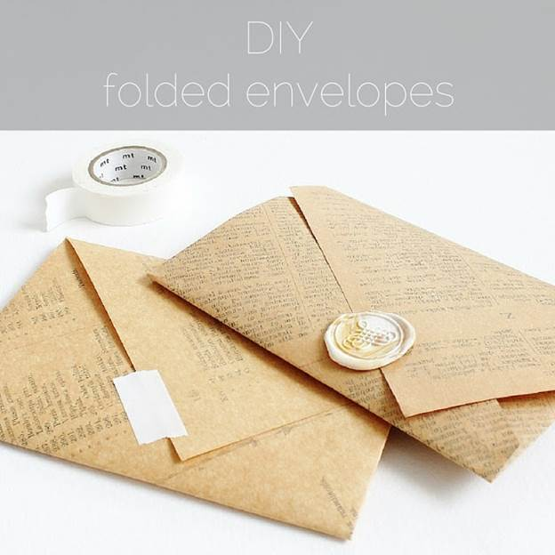 18-DIY-Folded-Envelop