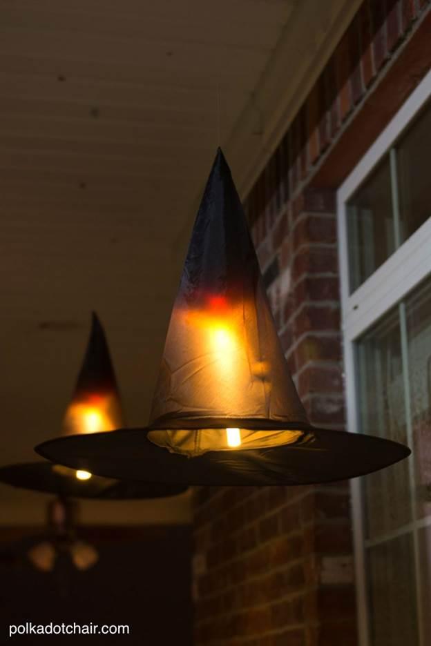 2. DIY Witch Hat Decoration