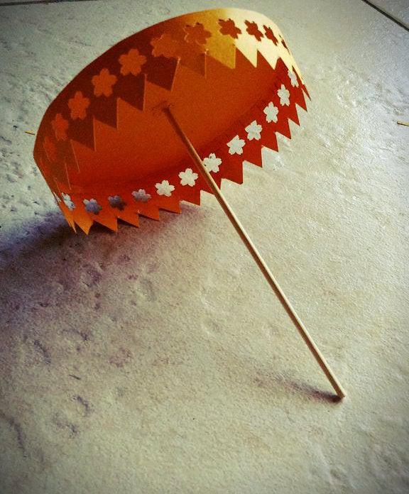2. Decorative Paper Umbrella