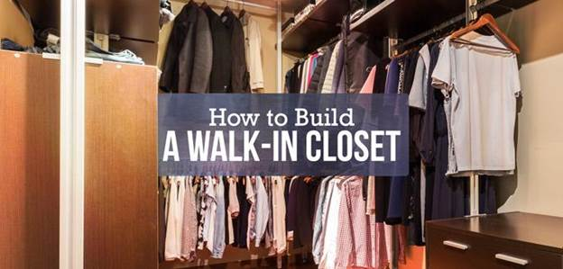 2. How To Build A Walk In Closet
