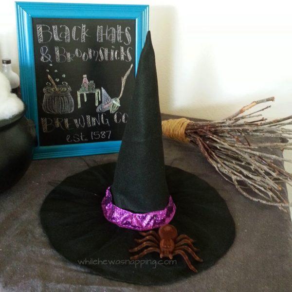 20. DIY No-Sew Witch Hat