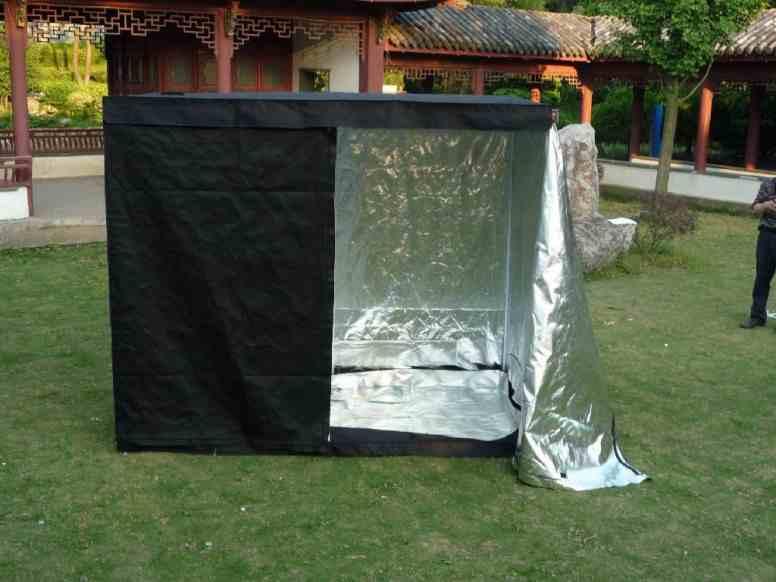 21-Assembling-Homemade-Tent