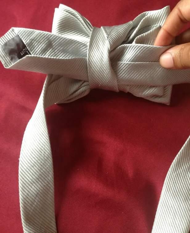 24. Bow Tie with Necktie