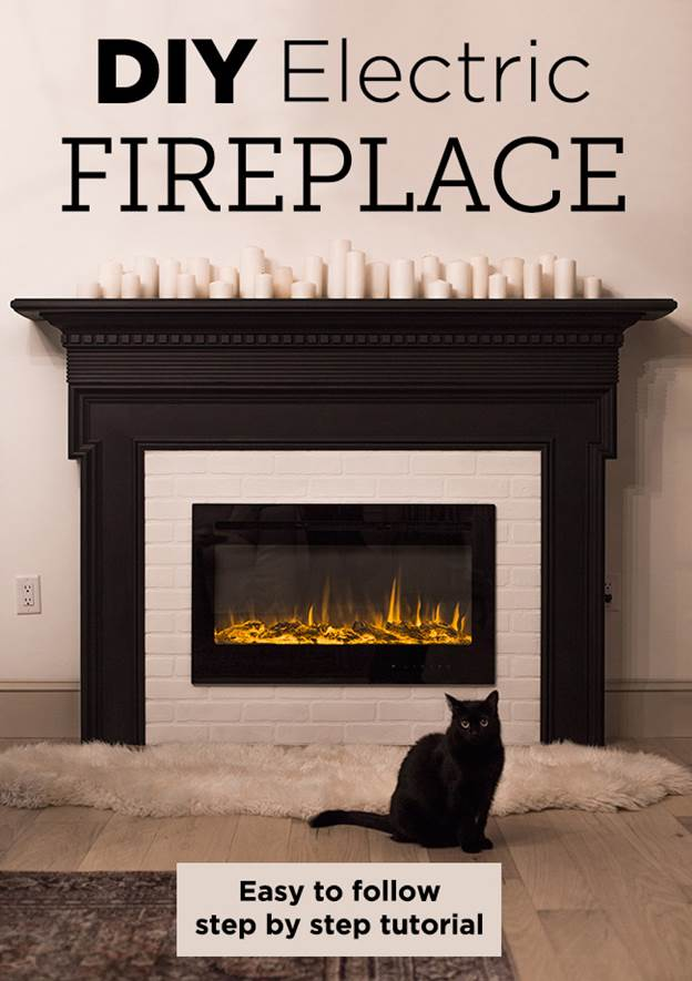 4-DIY-Electric-Fireplace