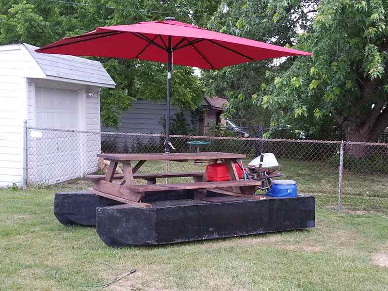 4-Picnic-Tabled-Pontoon-Boat