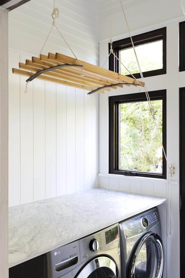4. DIY Hanging Drying Rack