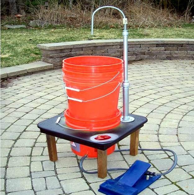 5. DIY Field Sink
