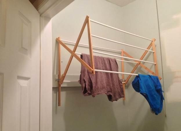 5. Space-Saving Drying Rack