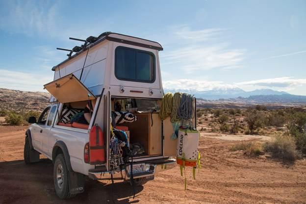 6. DIY Camper Shell