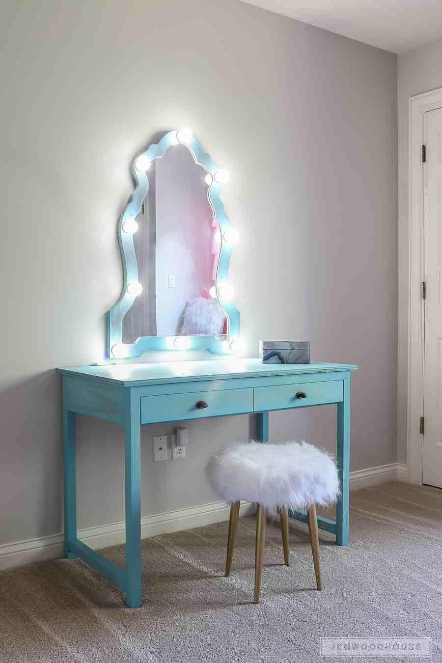 6. How to Build a DIY Makeup Vanity