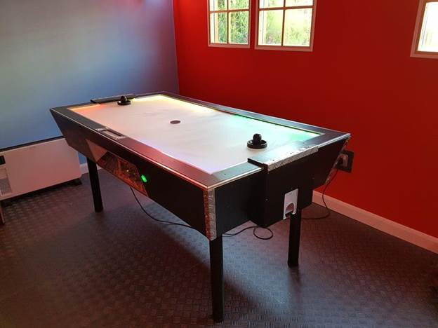 8. Air Hockey Table Build
