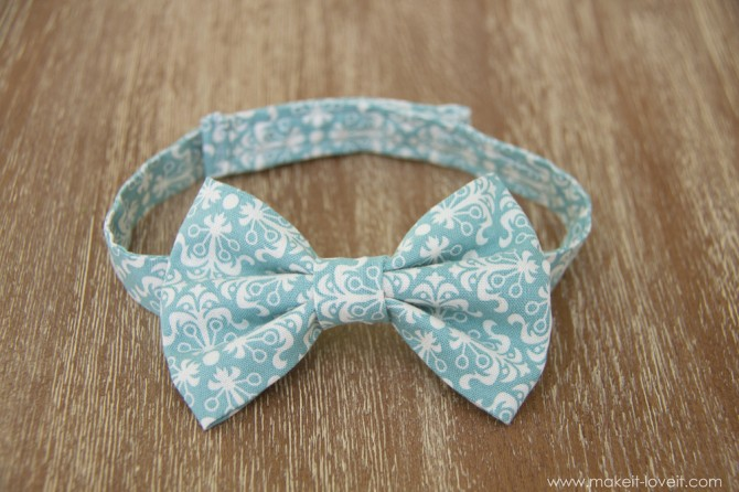8. Little Boy's Bow Tie