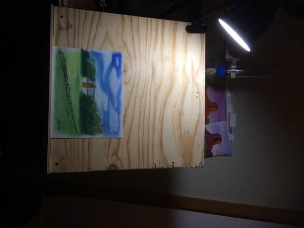 9-DIY-Easel-Tabletop