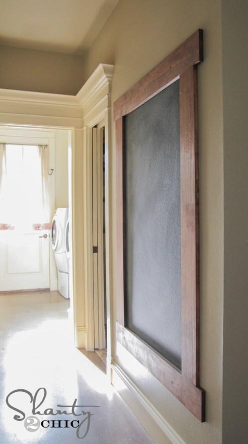 9-DIY-Framed-Chalkboard-Wall
