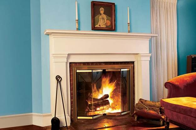 9-How-To-Install-Glass-Fireplace-Doors