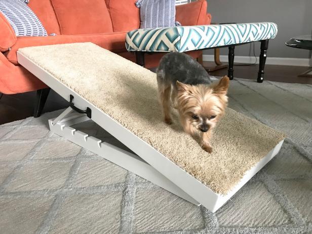 9. Adjustable Dog Ramp