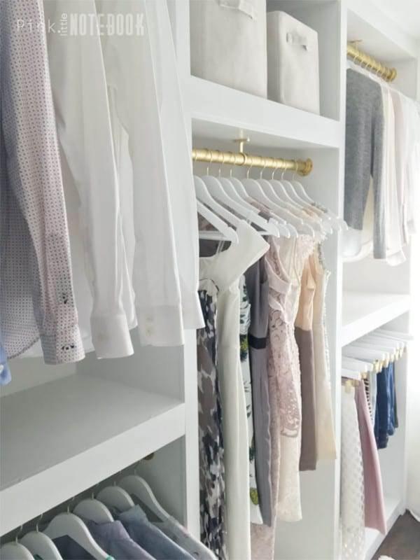 9. DIY Closet Organizer