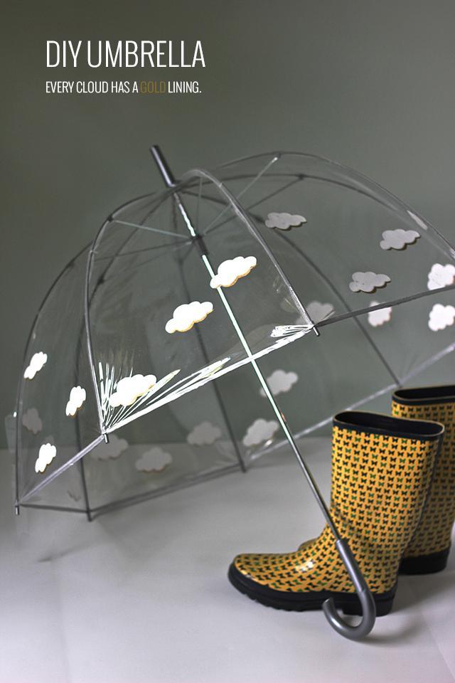 9. Umbrella with Cricut Design