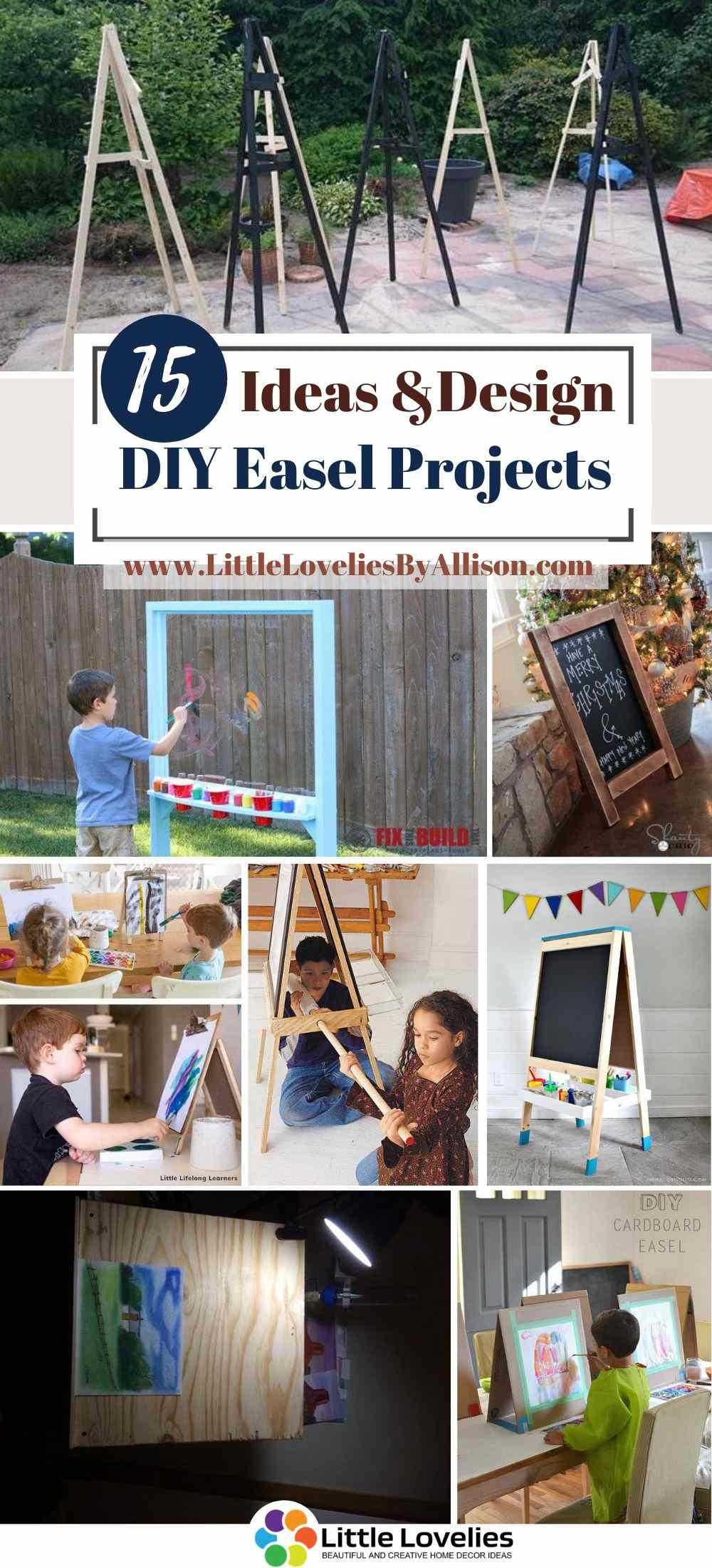 Best-DIY-Easel-Projects