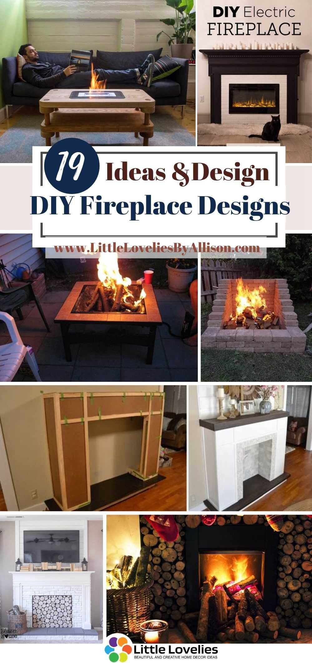 Best-DIY-Fireplace-Designs