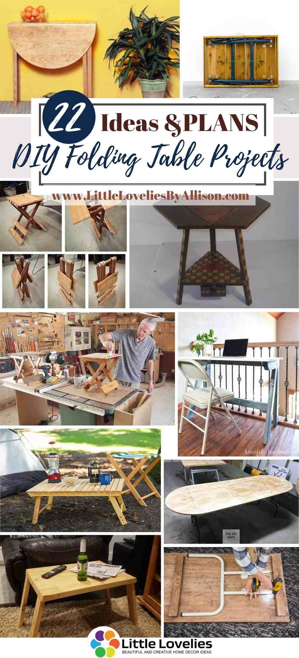 Best-DIY-Folding-Table-Projects