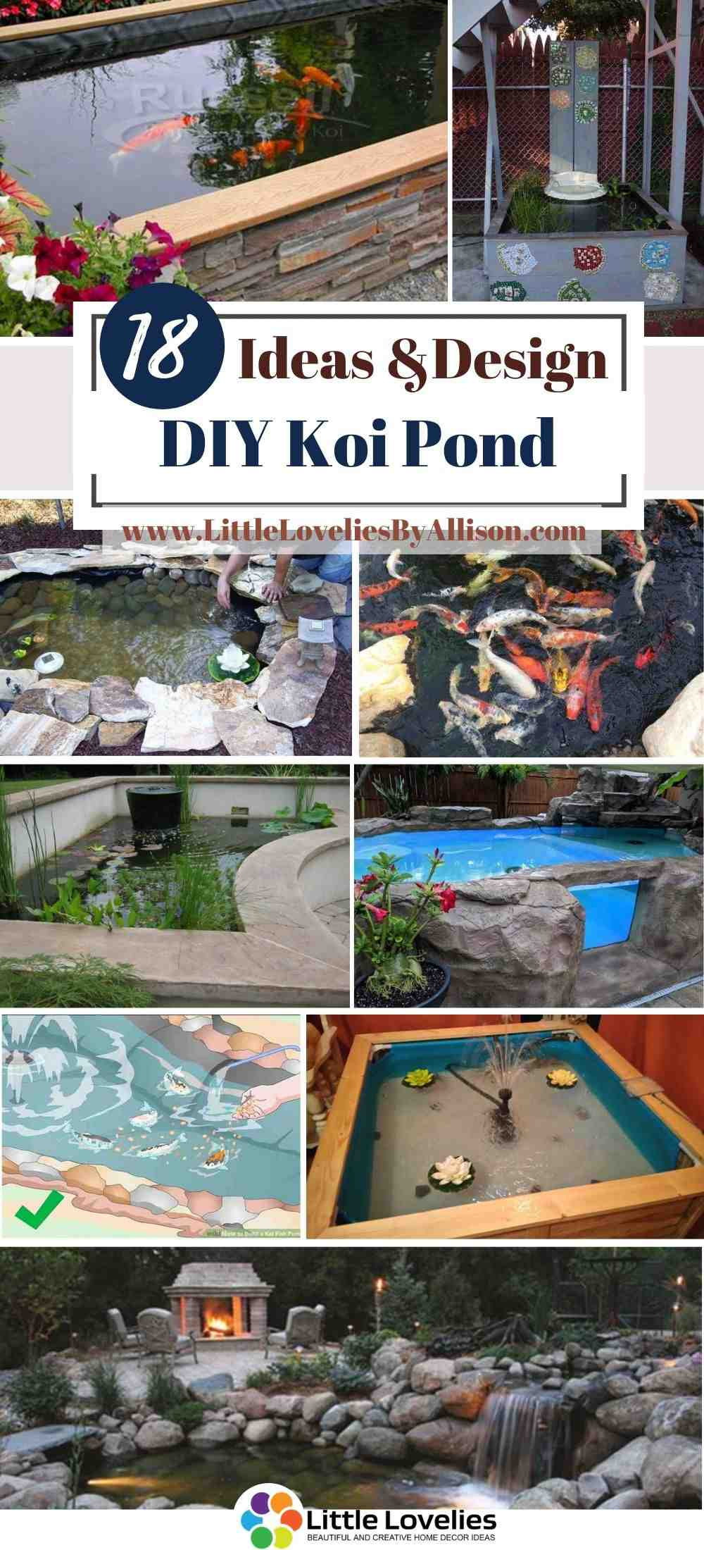 18 Diy Koi Pond Projects You Can Build Easily
