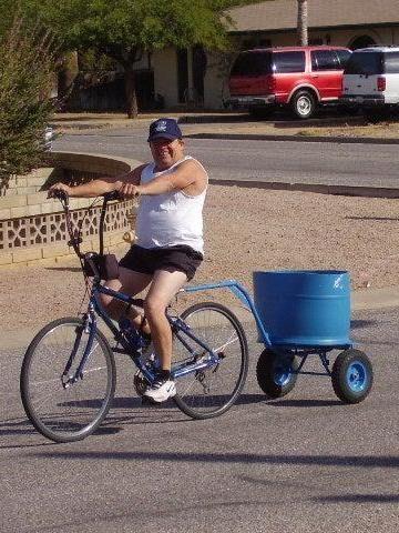 DIY Bike Trailer Ideas