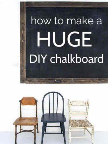 DIY Chalkboard Ideas