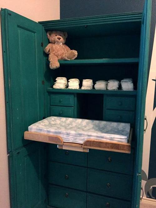 DIY Changing Table Plans