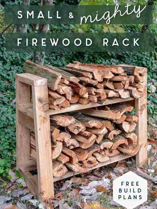 DIY Firewood Storage Projects