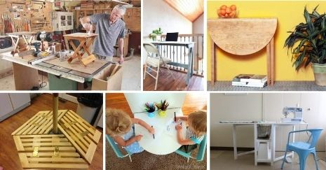 DIY-Folding-Table-Projects