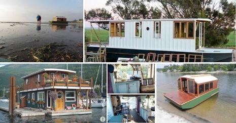 DIY Houseboat