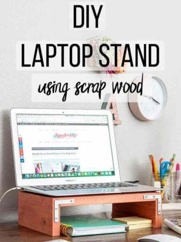 DIY Laptop Stand Ideas