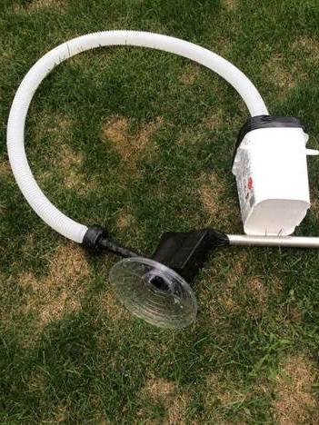 DIY Pool Vacuum