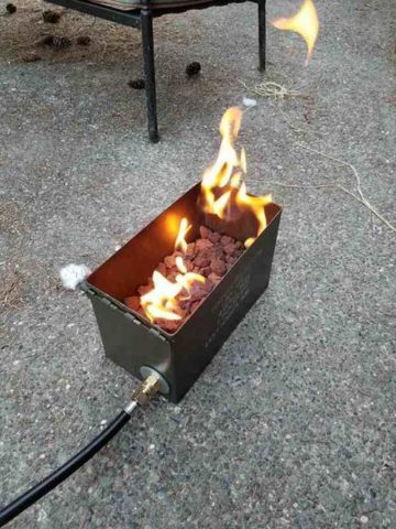 DIY Propane Fire Pit Projects