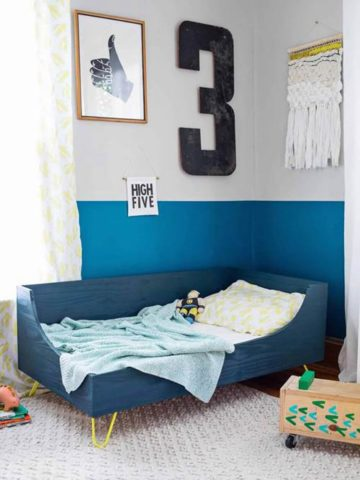 DIY Toddler Bed Ideas