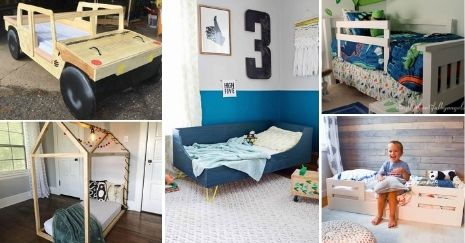 DIY-Toddler-Bed