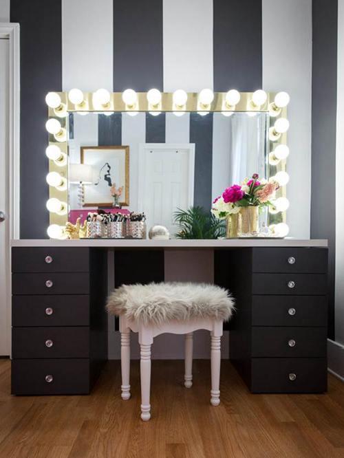 DIY Vanity Mirror Projects
