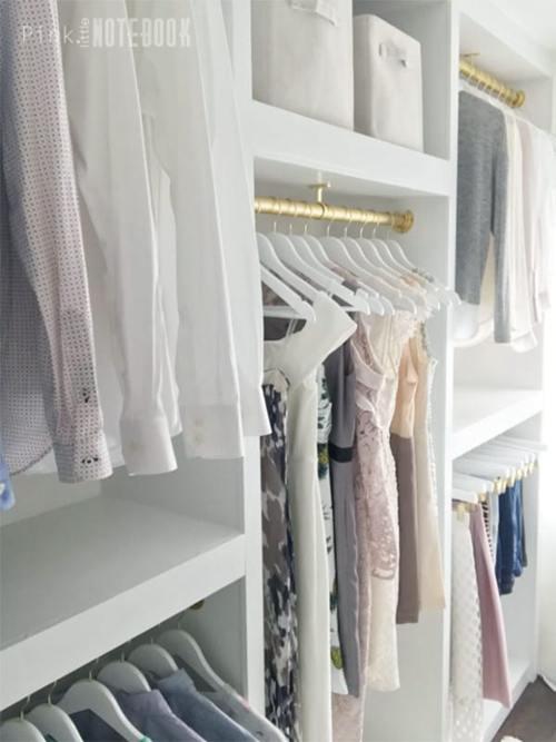 DIY Walk In Closet Projects