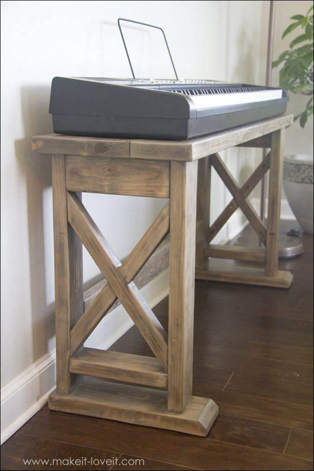1. DIY Digital Piano Stand