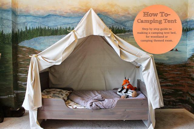 1. The Raged Wren DIY Bed Tent