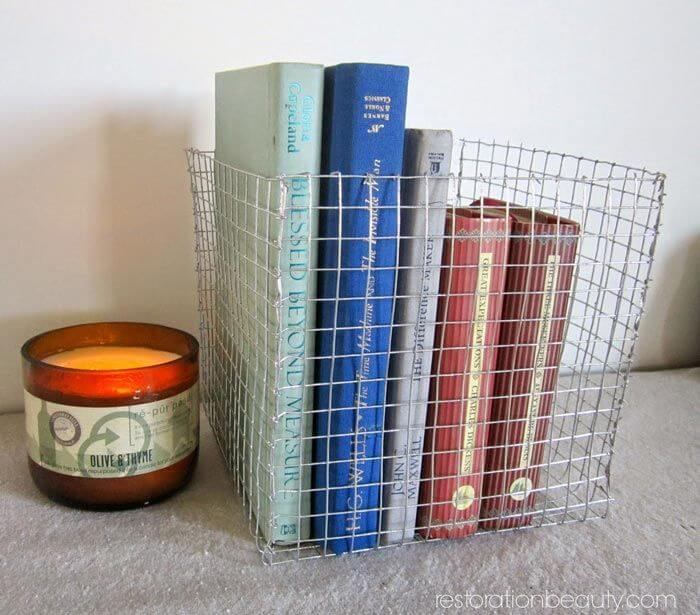 1. Wire DIY Basket