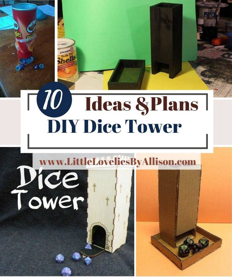 10 DIY Dice Tower Ideas For Rolling Dice