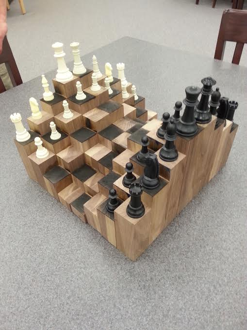 10. 3D DIY Chess Board