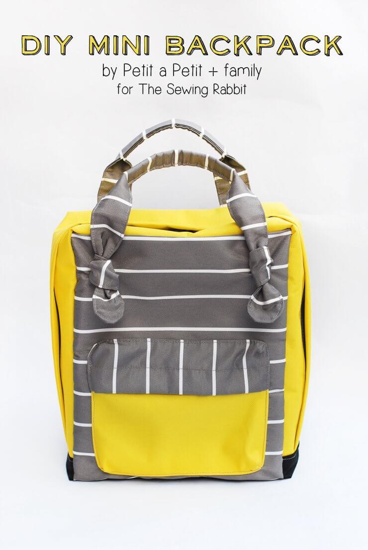 10. DIY Mini Backpack