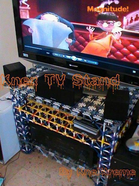 10. Knex TV Stand