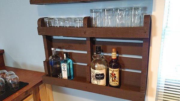 11. DIY Pallet Wood Cabinet