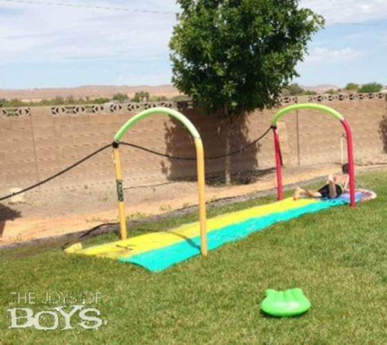 11. DIY Splash Pad
